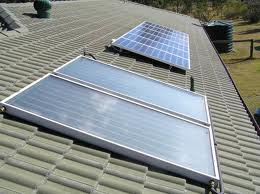 Solar hot water systems for the whole house